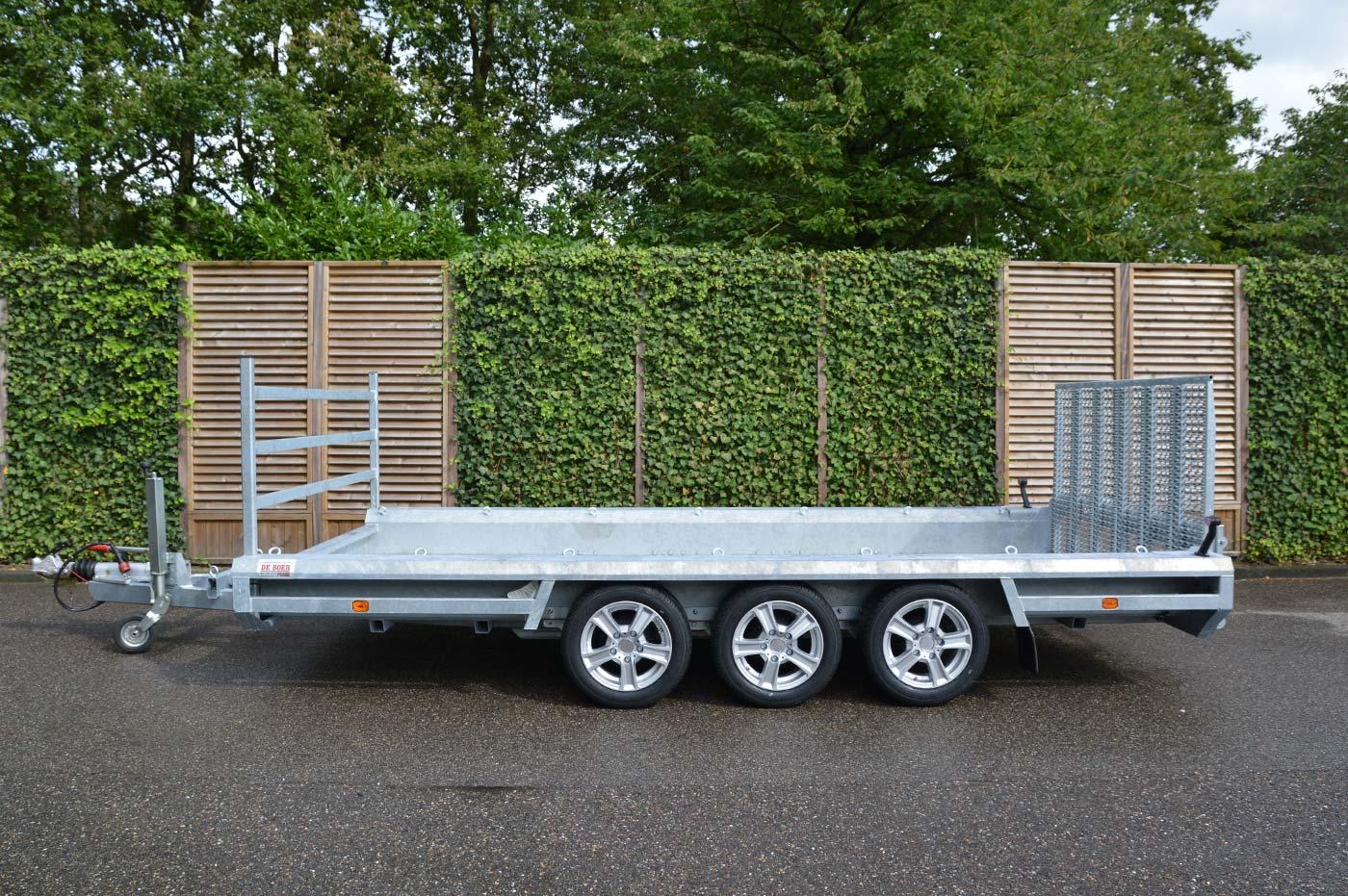 Hulco Terrax 2 3002 394180 3000kg Minigraver Transporter