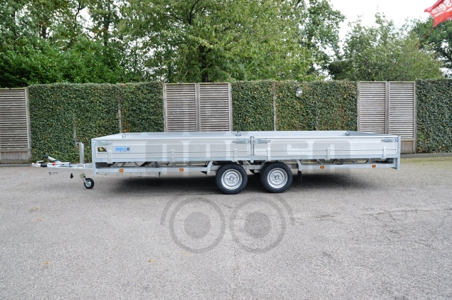 Productfoto Hulco MEDAX-2 3002 3000KG (502x203) Plateauwagen