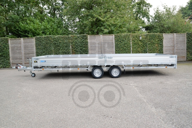 Productfoto Hulco MEDAX-2 3003 3000KG (611x203) Plateauwagen