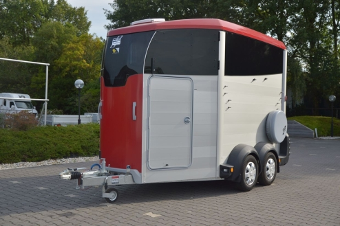 Productfoto van Ifor Williams HBX-511 2Paards Paardentrailer